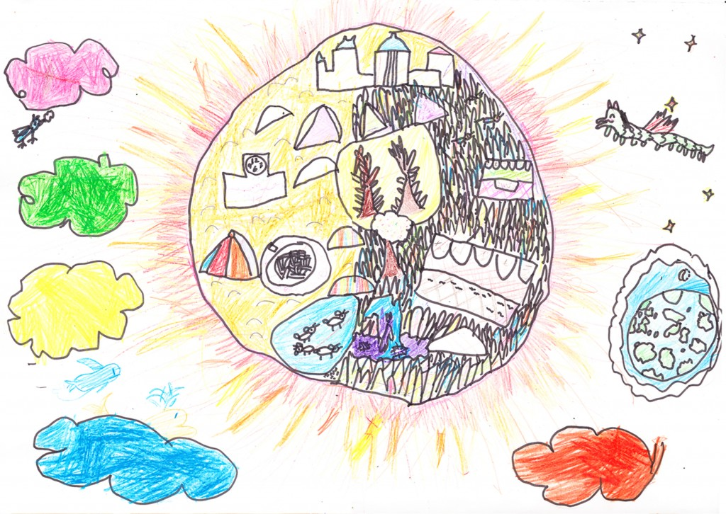 The Happy Living in the Place of the Sun By Himiko Oki (2)