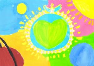 The Peaceful Earth Full of Love By Kiyomi Kitao